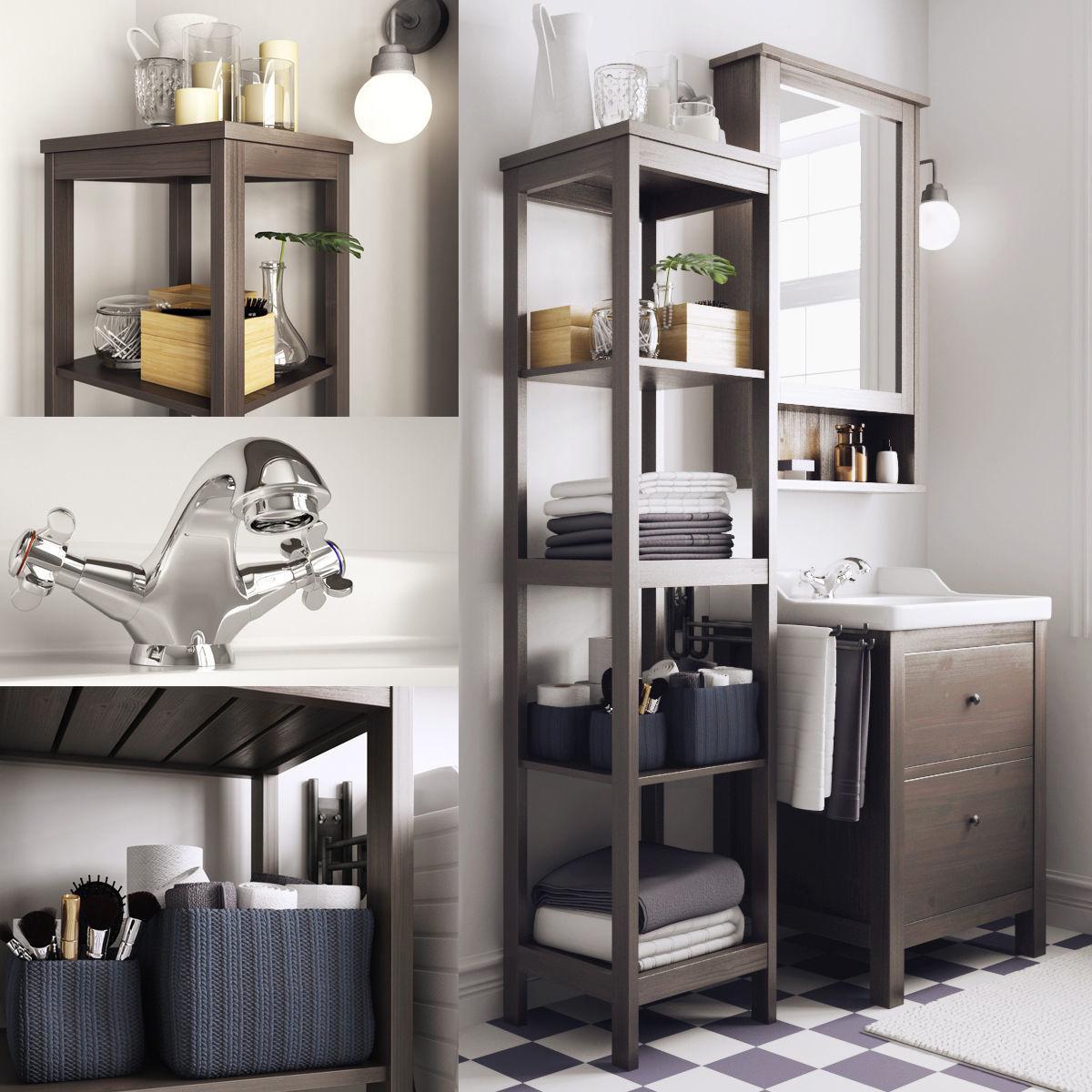Bathroom I Hemnes Rttviken
