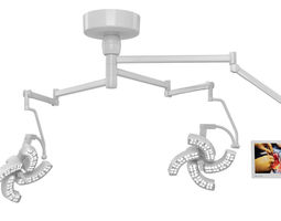 Surgical Lights Steris Xled4 3D model