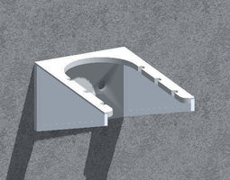 Wall bracket - dining 3D print model