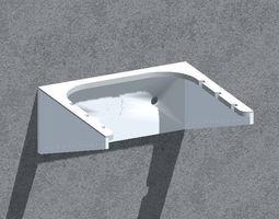 3D printable model box Wall bracket -