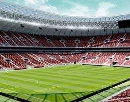3D model realtime Luzhniki Stadium - Moscow Russia 2018