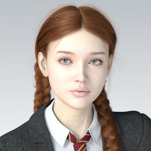 Clair for Genesis 8 Female | 3D model