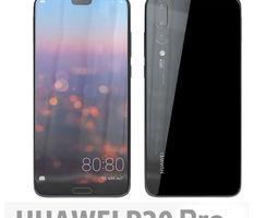 Huawei P20 Pro Midnight Black 3D model