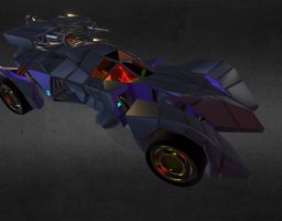 BATMOBILE Armored Ver2 3D asset