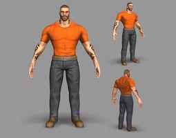 3D asset Gangster