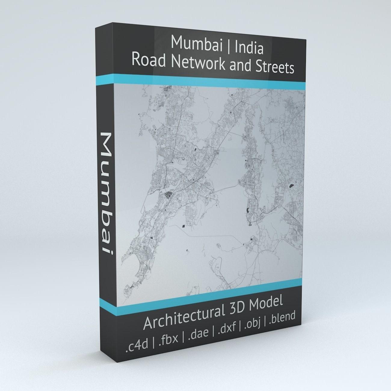 Mumbai Area Road Network and Streets