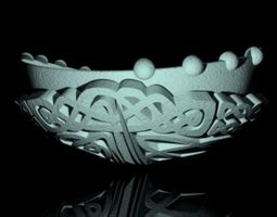 The Apprentice Knot Bowl 3D printable model