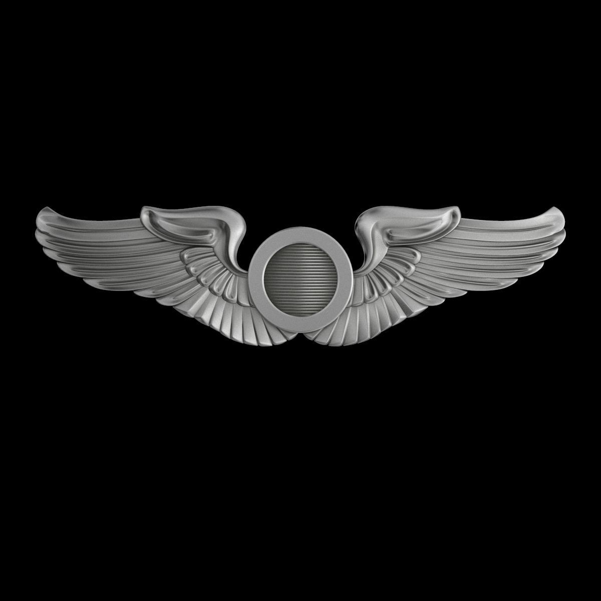 USAAF  Aircraft Observer Wings Badge