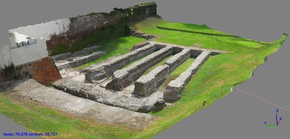 Roman amphitheatre of Milan
