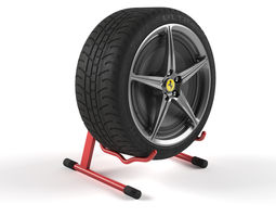3D model Tire Speaker