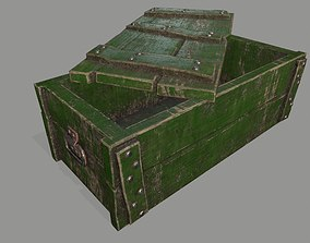 old chest 3D asset
