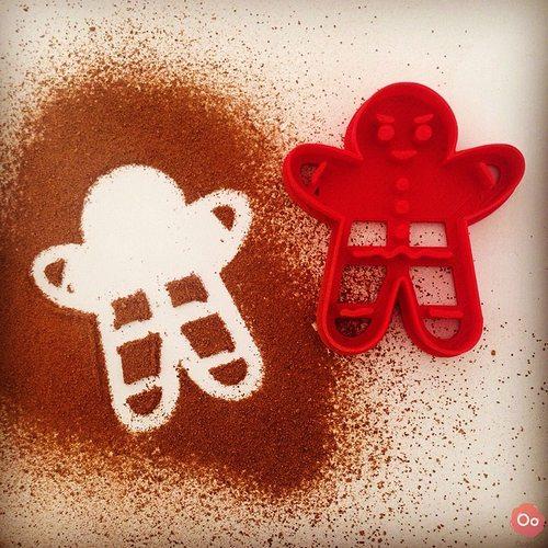 gingerbread cookie cutter 3d model stl 1