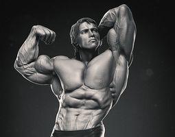 3D model Arnold Schwarzenegger Mr Olympia