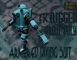 3D model Armored diving suit