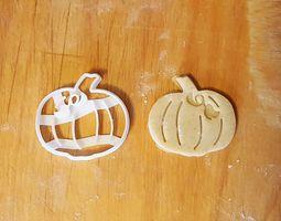 3D print model Pumpkin cookie cutter version 3