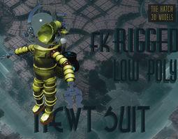 Newt suit 3D asset