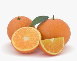 3D model Orange orange