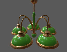 chandelier 3D model other