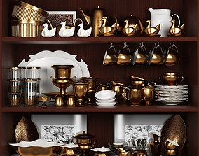 3D model Set-195 Kitchen 2