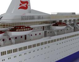 Royal Viking Star 3D asset