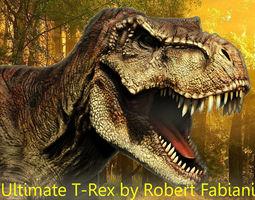 T-Rex 3D asset