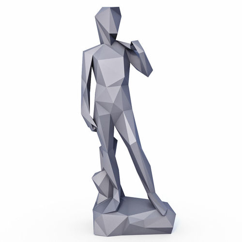 David Sculpture Low Poly v2