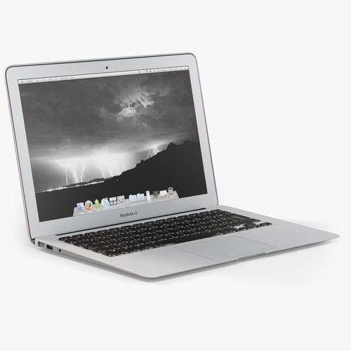 Apple MacBook Air 13 Low-Poly