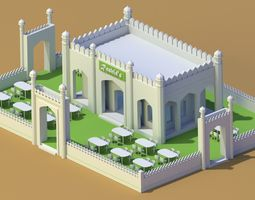 3D animated Palace