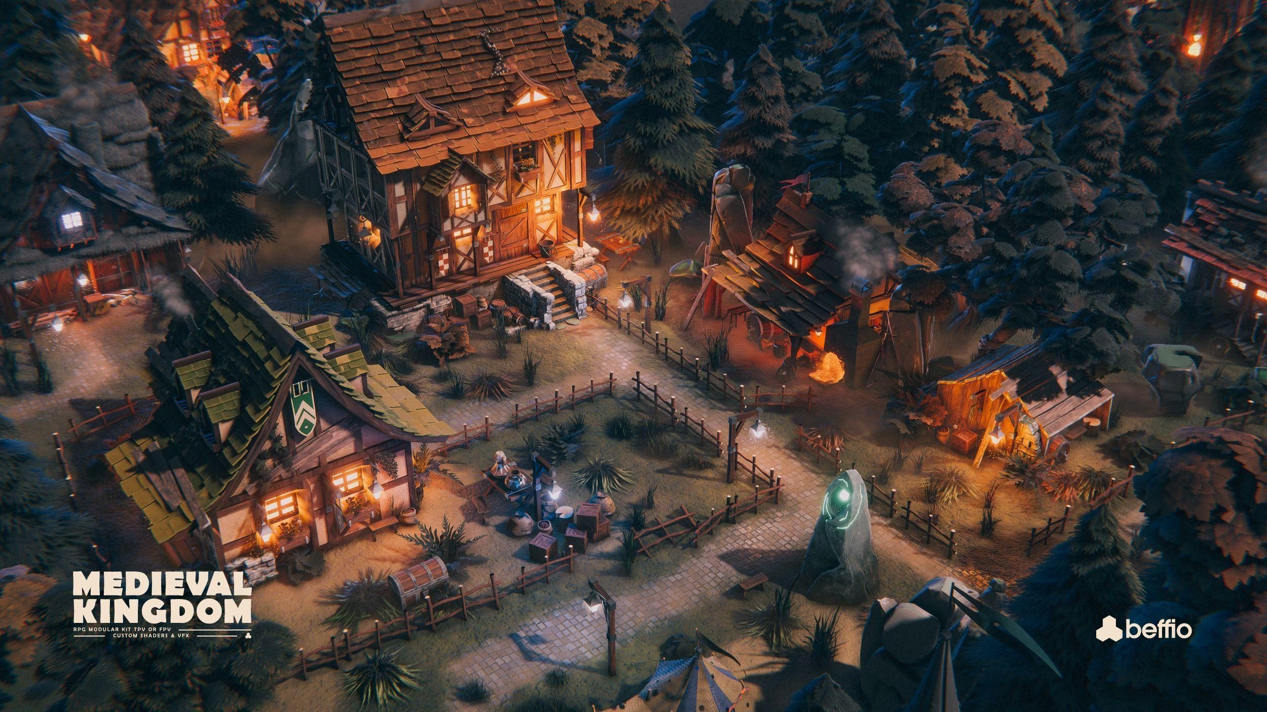 RPG Medieval Kingdom - Unity3D  UE4