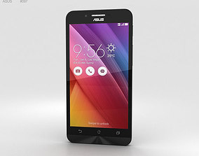 3D model Asus Zenfone Go ZC451TG Charcoal Black