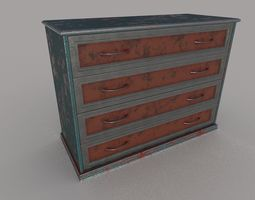 Cupboard unrealengine 3D model