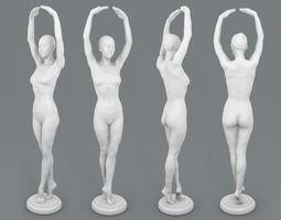 Nova - Ballet pose scan 3D printable model