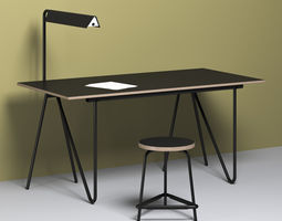 T22 Writing desk 3D model