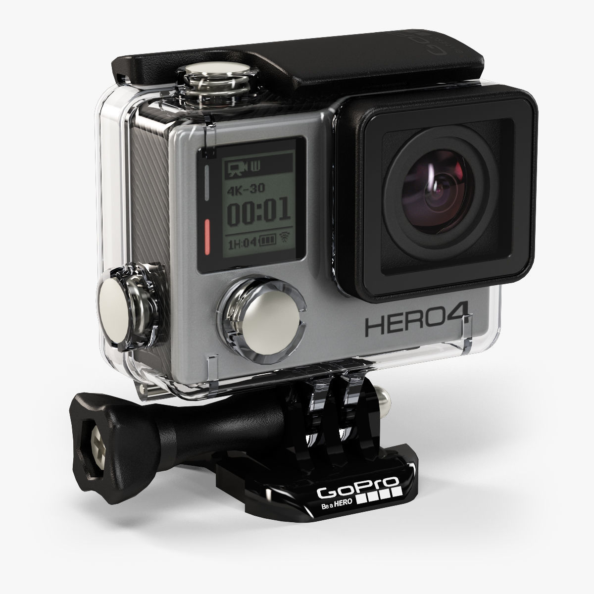 GoPro HERO4 Black Edition action camera with Waterproof Housing