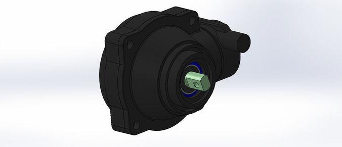 traxxas e maxx full assembly diff set tra3978 tra5382x tra5379x 3d model sldprt sldasm slddrw 1