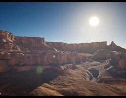 Canyon Landscape - A 3D asset