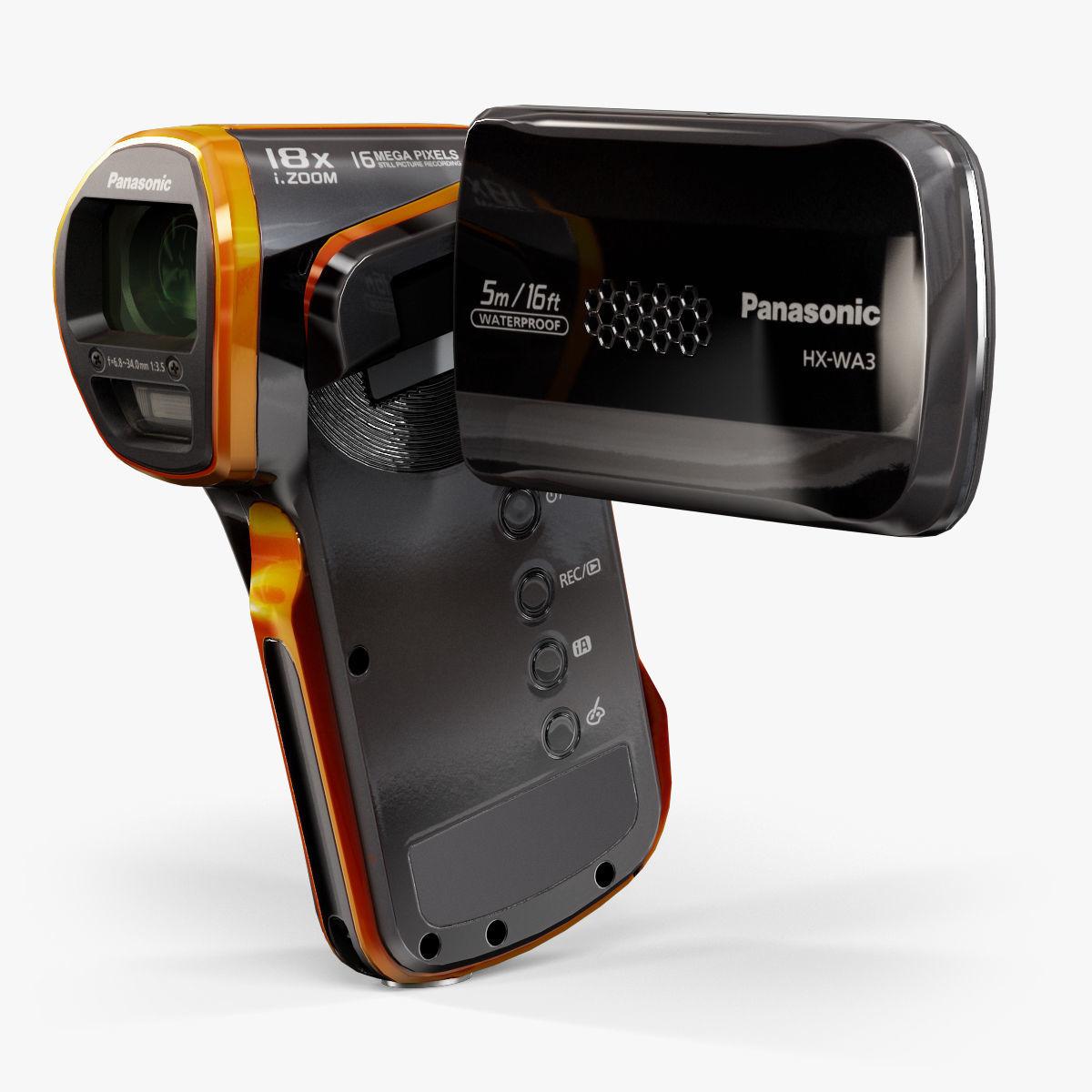Panasonic HX-WA3 pocket camcorder