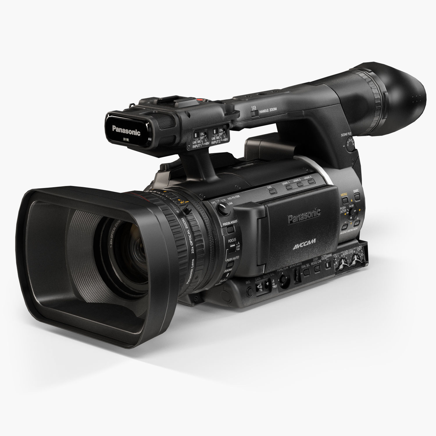 Panasonic AG-AC160A AVCCAM Series professional camcorder