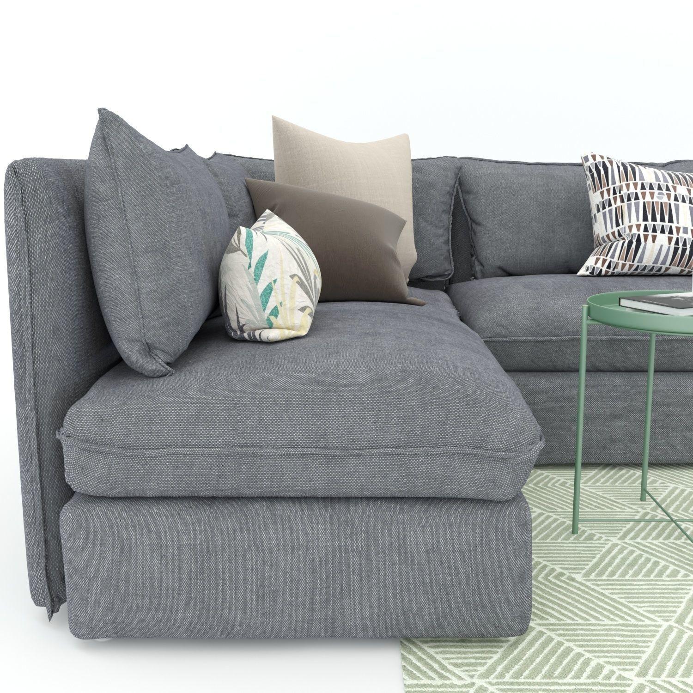 3d Ikea Vallentuna Sofa And Armchair Model Max Obj Fbx Mat 6