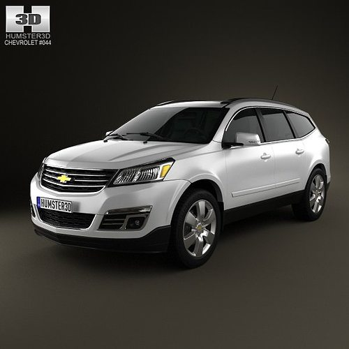 2012 Chevrolet Traverse Interior: Chevrolet Traverse 2013 3D Model