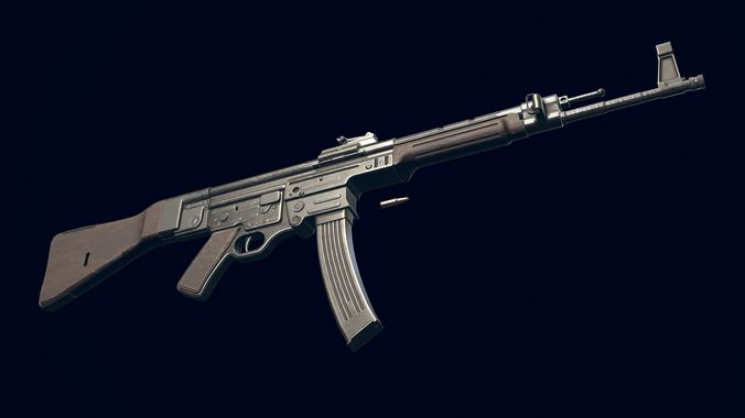 rifle stg44 3d model obj mtl 1