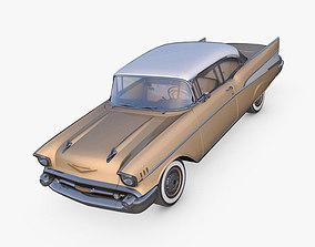3D asset realtime Chevrolet Bel Air 1957