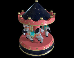 Carousel Toy 3D