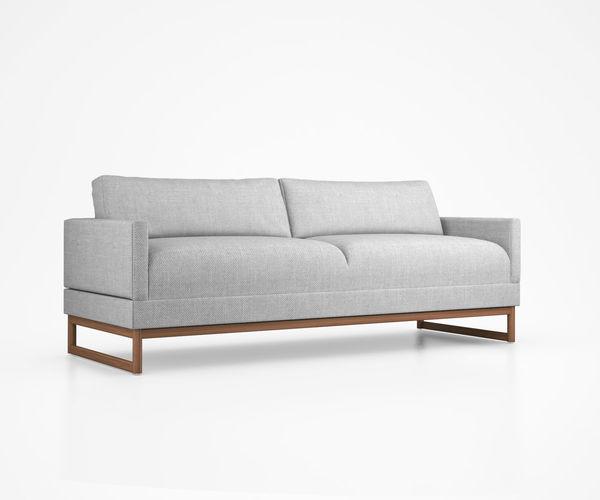 Diplomat Sleeper Sofa By Blu Dot Model Max Obj Mtl Tga