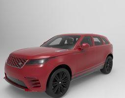 Range velar 3D model