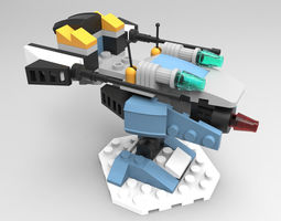 3d lego tower defense 3