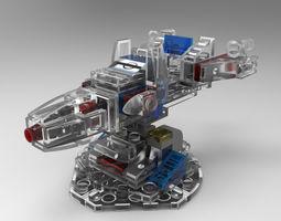 3D model LEGO Tower Defense 1