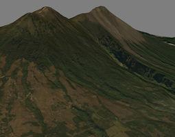 Fuego Vulcan - Mountain 3D