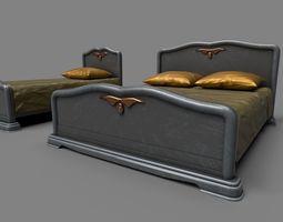 classic beds 3d