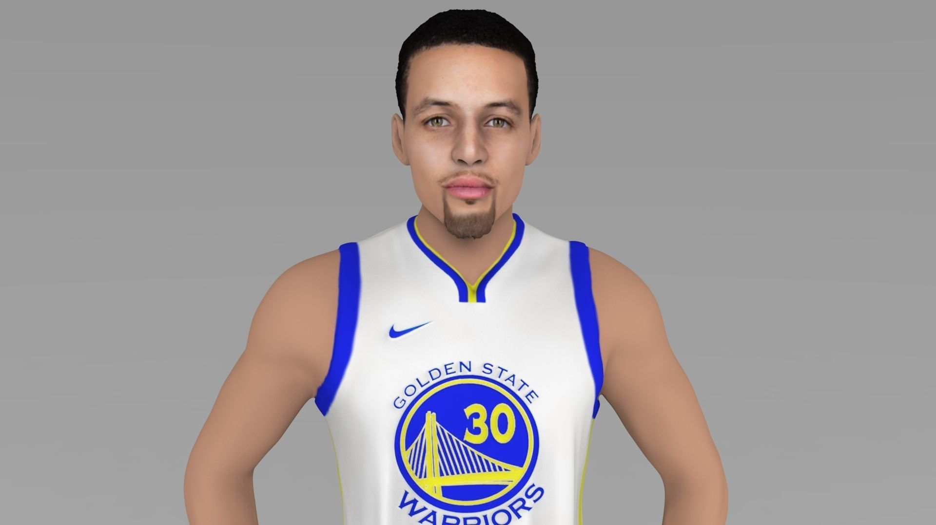 Stephen Curry ready for full color 3D printing